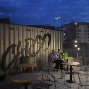 Cargo Helsinki-yläterassi